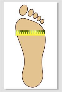 Как определить размер ноги на алиэкспресс