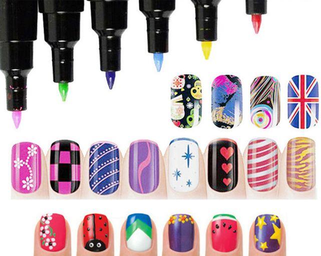Лак-маркер для ногтей купить