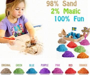 Где купить кинетический песок